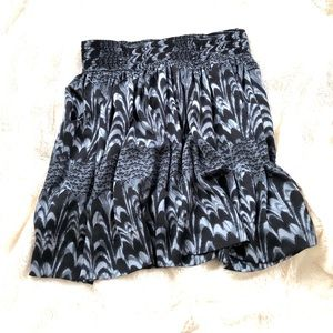 BR silk skirt with pockets!